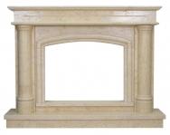 Kominek portalowy Boston marmur jerusalem gold wymiary (szer/wys/głęb): 158/119.5/30