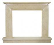 Kominek portalowy Modena marmur jerusalem gold wymiary (szer/wys/głęb): 145/119/30