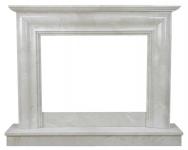Kominek portalowy Rimini marmur crema marfil wymiary (szer/wys/głęb): 145/117/29