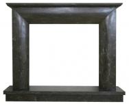 Kominek portalowy Modena czarny marmur wymiary (szer/wys/głęb): 145/119/30